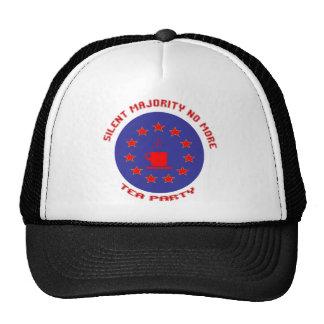 Silent Majority Tea Party Trucker Hat
