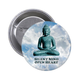 Silent Mind - Round Button