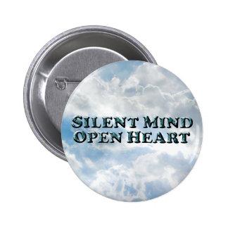 Silent Mind Text - Round Button