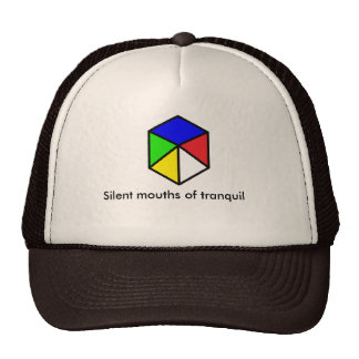 Silent mouths of tranquil hat trucker hats