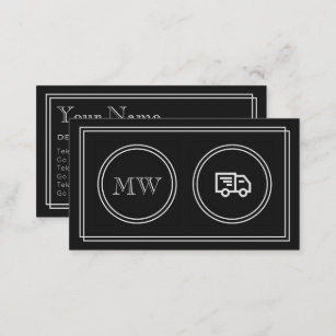 Silent movies business cards zazzle silent movie delivery service business cards colourmoves