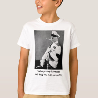 Silent Movie ~ Old Photo  Monocle for Mr Peanut T-Shirt