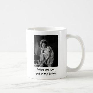 Silent Movie ~ Old Photo Mugs