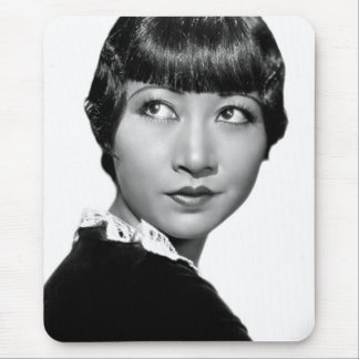 Silent Movie Star Anna May Wong Mouse Pad