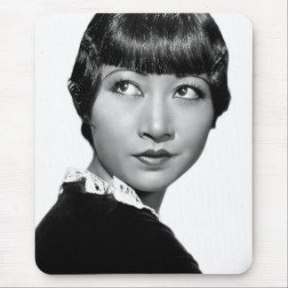 Silent Movie Star Anna May Wong Mouse Pad