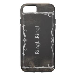 Silent Movie Title iPhone 7 case Vintage Grunge