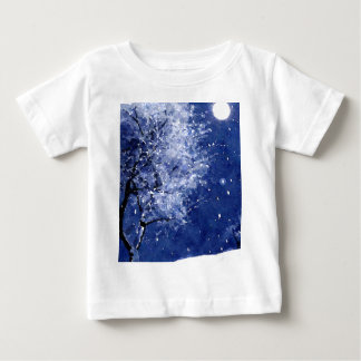 Silent Night Baby T-Shirt