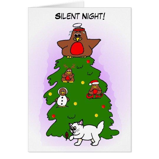 Silent Night! Card