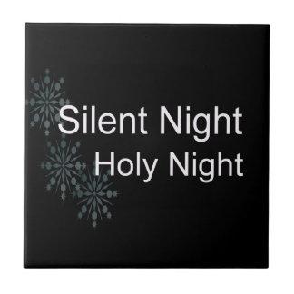 Silent Night Ceramic Tile