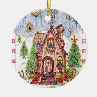 Silent Night Christmas ornament