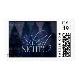 Silent Night Christmas Postage Stamps