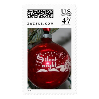 Silent Night Christmas Stamps