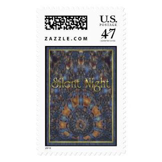 Silent Night Gold Stamp