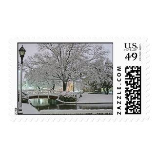 Silent Night holiday postage