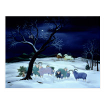 Silent Night Holy Night 1995 Postcard