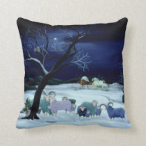Silent Night Holy Night 1995 Throw Pillow