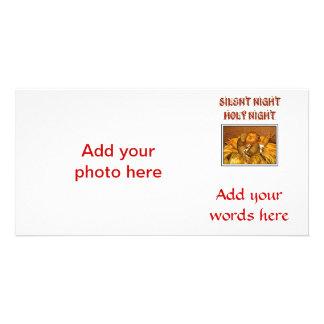 Silent Night - Holy Night - Baby Jesus Photo Card