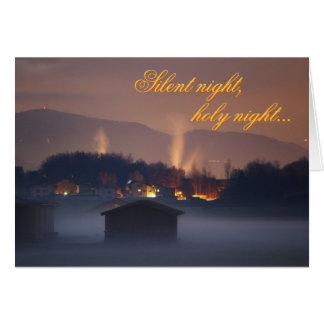 Silent night,holy night cards