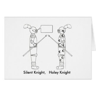 Silent Night, Holy Night Greeting Cards