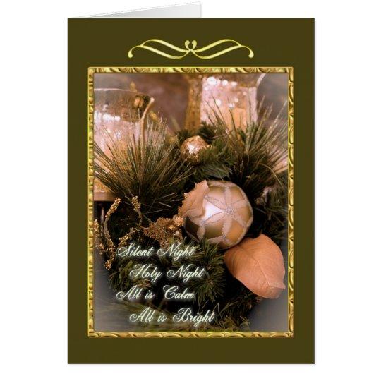 Silent Night Holy Night Card