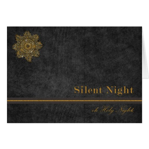 Silent Night Holy Night Cards