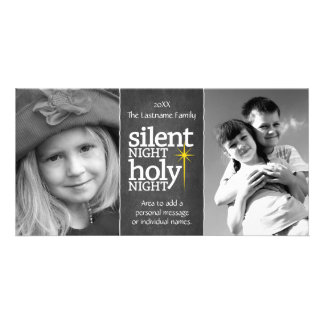 Silent Night, Holy Night Christian Photo Card
