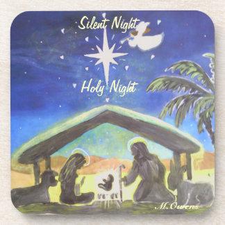 Silent Night, Holy Night Coasters