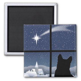 Silent Night, Holy Night Magnet