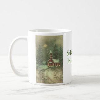 Silent Night Holy Night Coffee Mugs