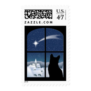 Silent Night, Holy Night Postage at Zazzle