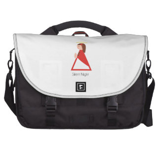 Silent Night Laptop Bags