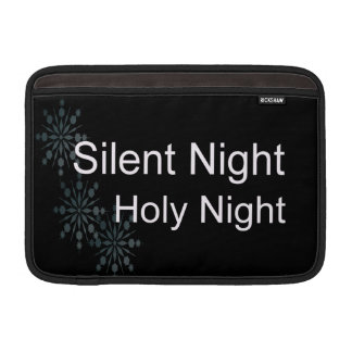 Silent Night MacBook Sleeve