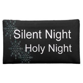 Silent Night Makeup Bag