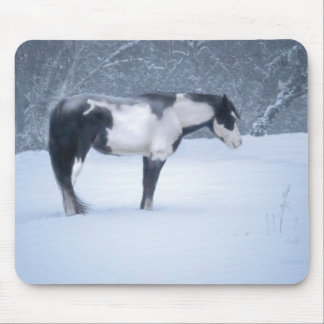 Silent Night Mouse Pad