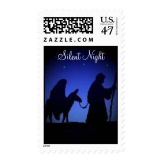 Silent Night Postage Stamp
