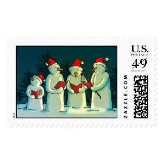 Silent Night Stamp