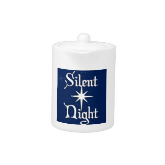 Silent Night Teapot