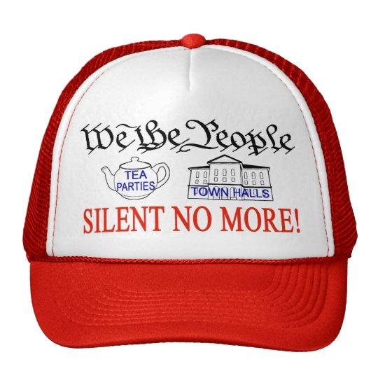 Silent No More! cap