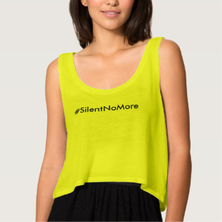 Silent No More Tank Top