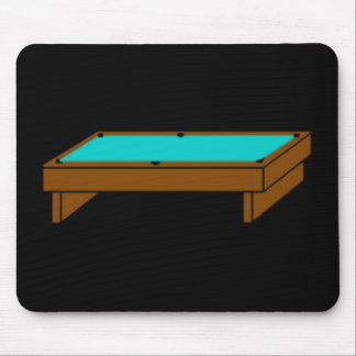 Silent Pool Table Mousepad