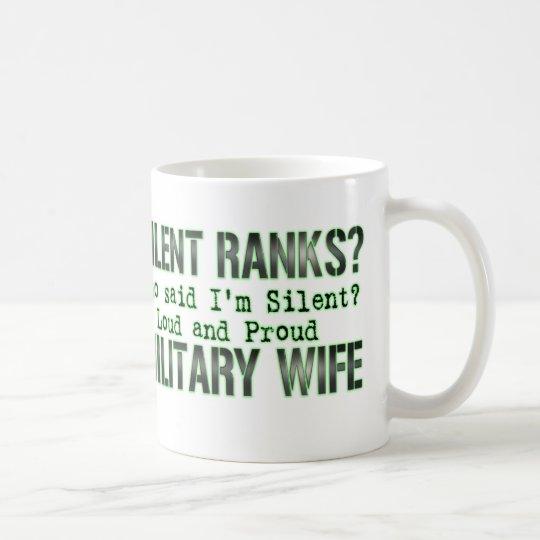 silent ranks coffee mug