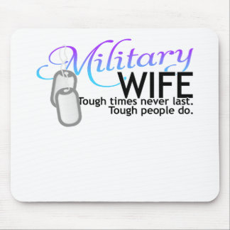 Silent Ranks-Wife 2 tone Mouse Pad