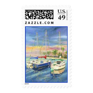 Silent Sails Postage Stamps