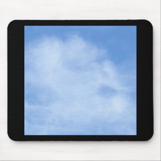 Silent Scream - a face in the clouds Mouse Mats
