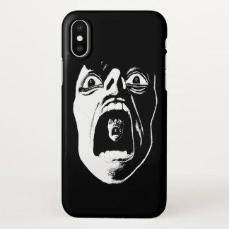 Silent Scream iPhone Case