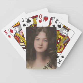 Silent Screen Beauty Playing Cards