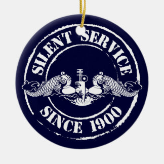 Silent Service Ceramic Ornament