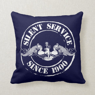 Silent Service Throw Pillow