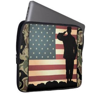 Silent Solider USA Neoprene Laptop Sleeve