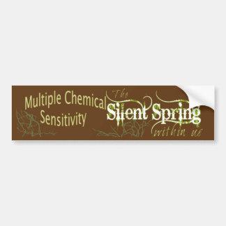 Silent Spring Bumper Sticker Car Bumper Sticker